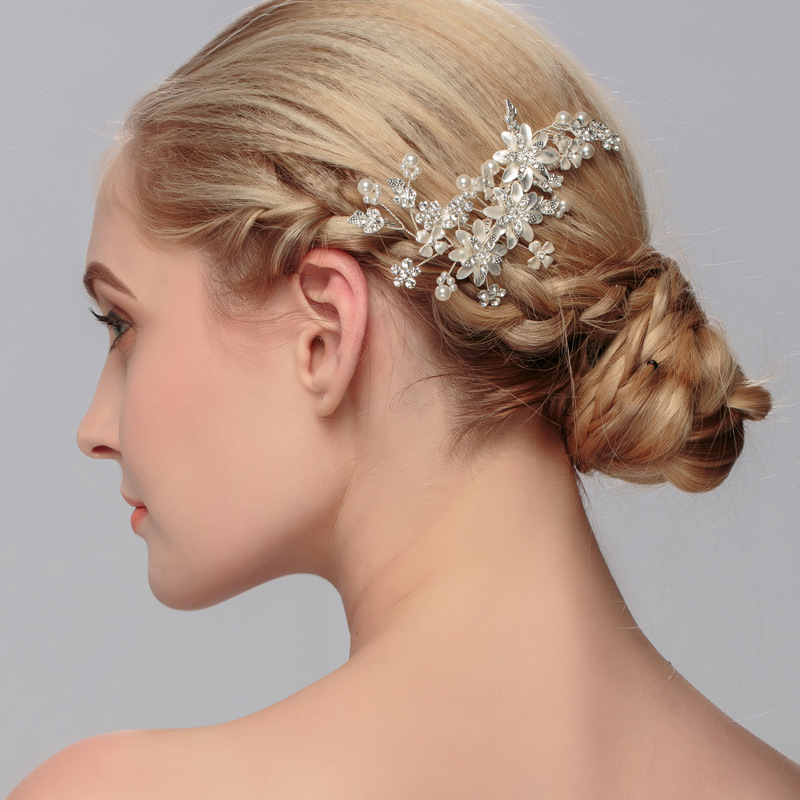 Alloy Fashion Geometric Hair accessories  (Alloy) NHHS0234-Alloy