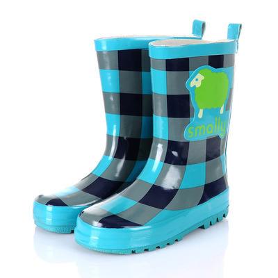 Giày đi mưa cho trẻ em thời trang Hàn Quốc Học sinh tiểu học thời trang Hàn Quốc trong ống cao su mưa chống trượt giày nam và nữ chống trượt Giày đi mưa