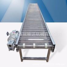 食品加工机械设备带式输送机 蔬菜清洗不锈钢304网链输送机厂家