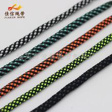 厂家批发 彩色涤纶包芯绳 32股编织裤头绳 束口袋 服装鞋帽抽绳
