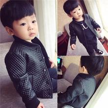 Áo khoác da kẻ sọc dày 2019 mùa đông mới pu da Phiên bản Hàn Quốc của áo khoác da cừu trẻ em da nước ngoài Lông thú