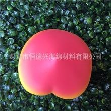 假水果squishy 日本食物玩具慢回彈PU仿真水蜜桃子蛋糕面包店裝飾
