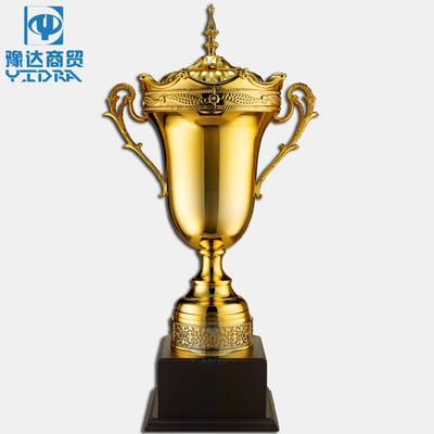 高档金属奖杯定制公司年会销售团队奖牌奖品体育赛事水晶奖杯奖牌