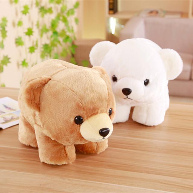 猫之恋 新品趴姿北极熊公仔毛绒玩具 儿童安抚娃娃女生礼物可定制