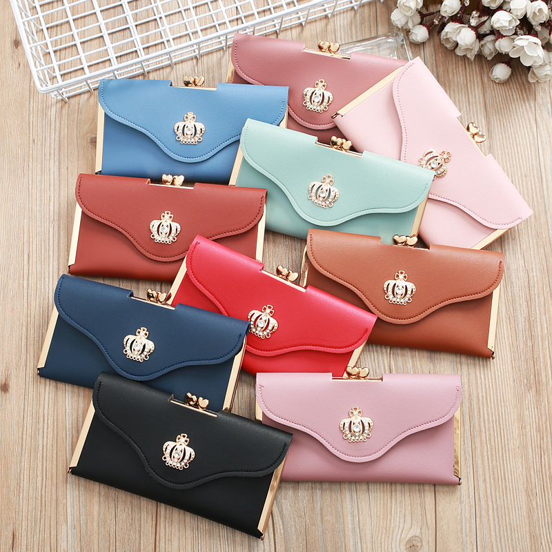 Korean Crown Diamond Mobile Phone Bag NHLAN337332