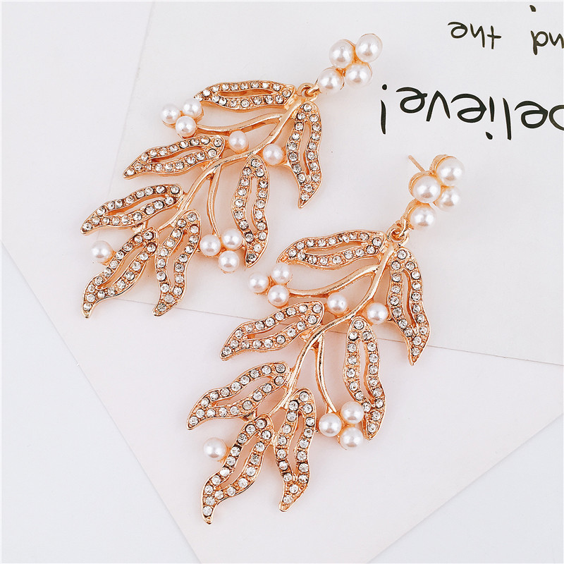 Alloy Fashion Flowers earring(yellow) NHVA4773-yellow