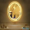 厂家定做浴室led智能化妆镜壁挂高清蓝牙卫浴镜定制加工