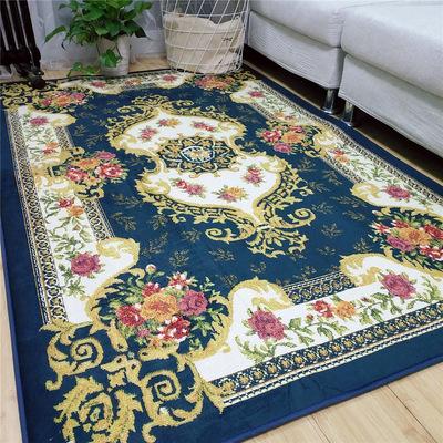 北欧客厅地毯欧式宫廷高档沙发茶几毯卧室地垫美式满铺房间床边毯