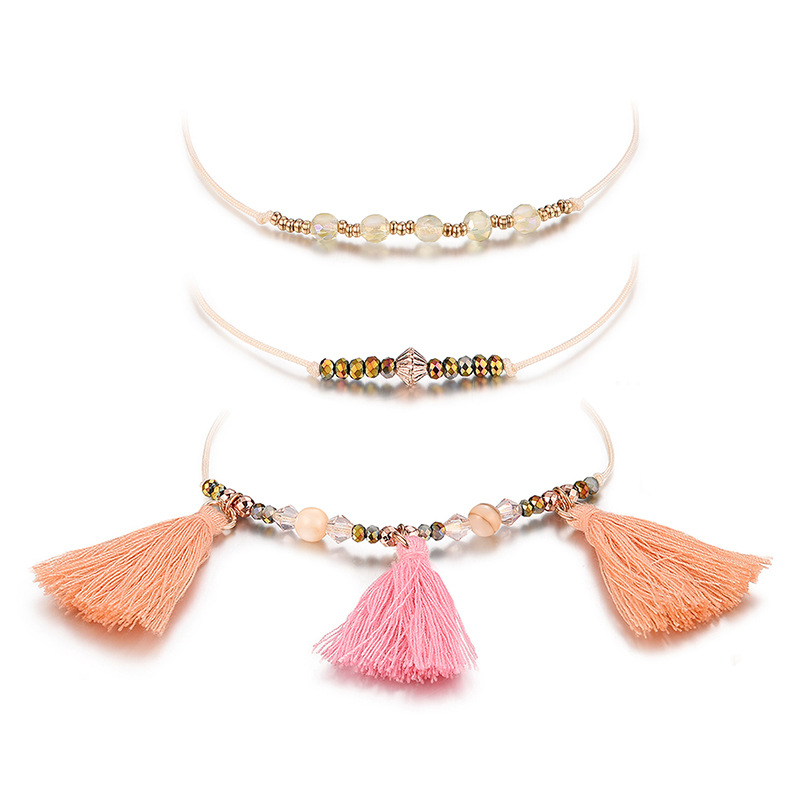 Alloy Fashion Tassel bracelet  (61188175) NHXS2269-61188175
