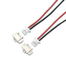 厂家直销1.25mm电池插头线音乐花盘连接线2P接线端子线连接器