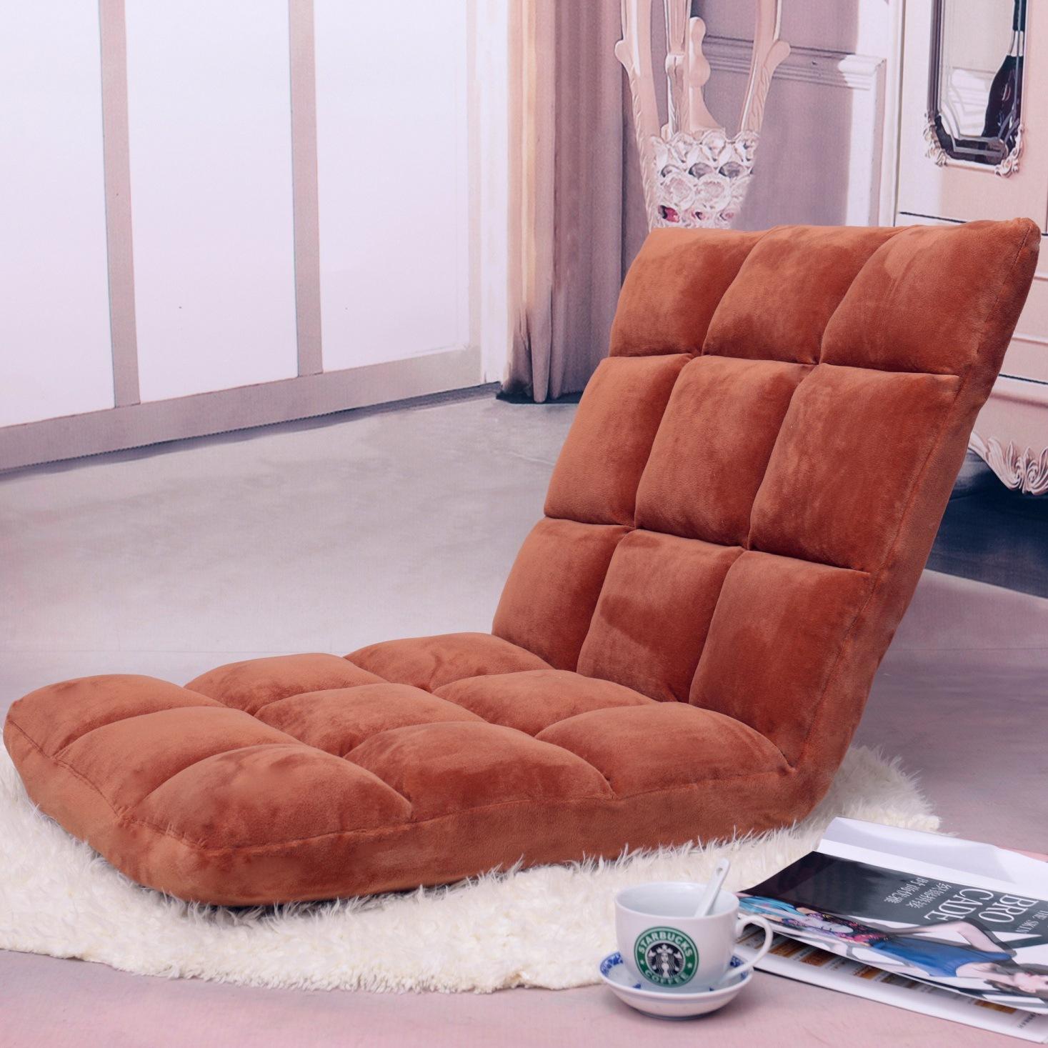 懒人沙发日式榻榻米可折叠单人小沙发床上电脑靠背椅子地板沙发