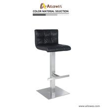 2018歐式簡約酒吧椅升降椅前臺辦公椅旋轉吧臺椅子高腳凳轉椅定制