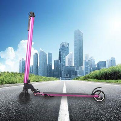 5寸铝合金成人通用电动滑板车折叠便携锂电池厂家碳纤维代步车2轮
