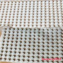灰白色螺丝孔塞子 硅胶堵孔塞 软硅胶螺丝孔塞