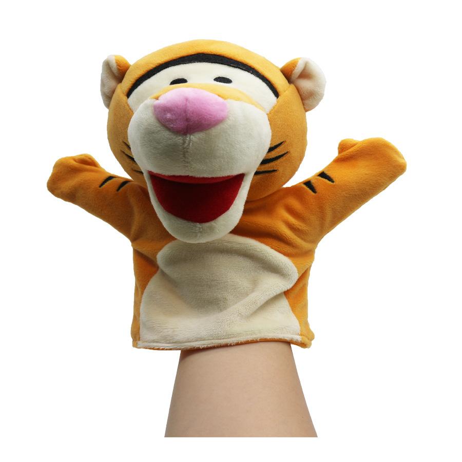 新款巧虎手偶儿童早教可爱毛绒玩具亲子互动安抚玩具手偶