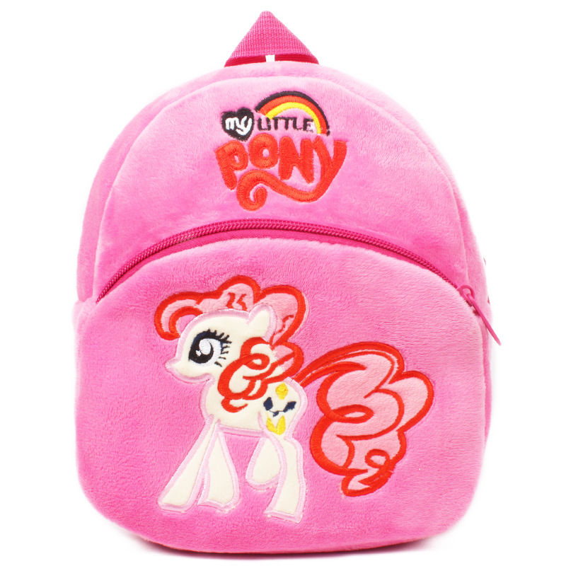 Small Rose Red Pony