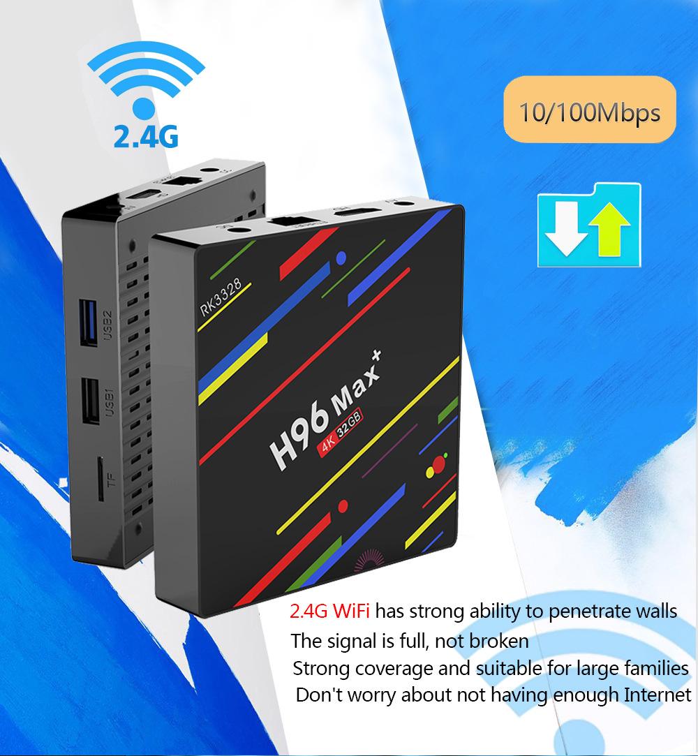 H96-max+-32G-OS8.1-RK3328-VOIC