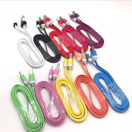 Hot Android smart long mouth, Apple interface mobile phone color small noodle line for all kinds of mobile phones