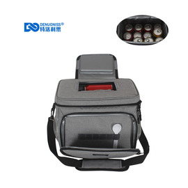 Trophys new waterproof frosted lunch bag large capacity insulation package creative lunch box bag ice pack