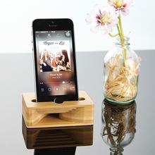 木质手机支架抖音气囊懒人支架创意车载底座多功能直播支架