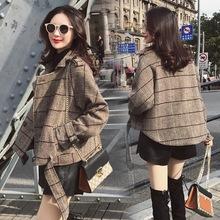 短外套女2019秋冬季新款小香风百搭宽松洋气韩版修身夹克显瘦女装