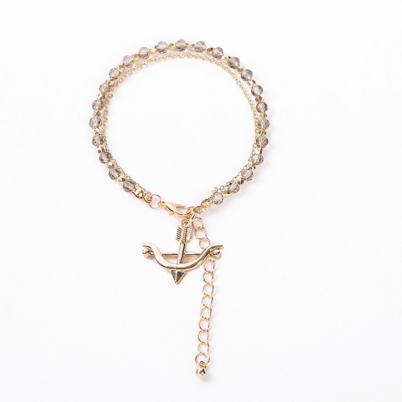 Alloy Fashion Geometric bracelet  (Anchor + red) NHHN0332-Anchor-red
