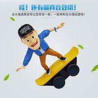龙祥光头强特技滑板车6017图片