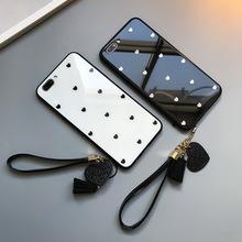 三星A30s/A50/A60/A70/A80/A6/A8 2018/a9s/A10小愛心玻璃手機殼