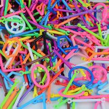聪明棒积木塑料拼插魔术棒益智立体智慧棒益智玩具厂家直销