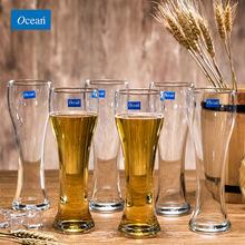 Ocean无铅玻璃啤酒杯酒吧果汁扎啤杯饮料杯KTV酒吧杯子果汁杯