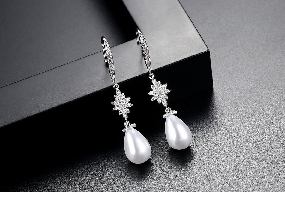 Alloy Korea Geometric earring  Platinum07G15 NHTM0195Platinum07G15
