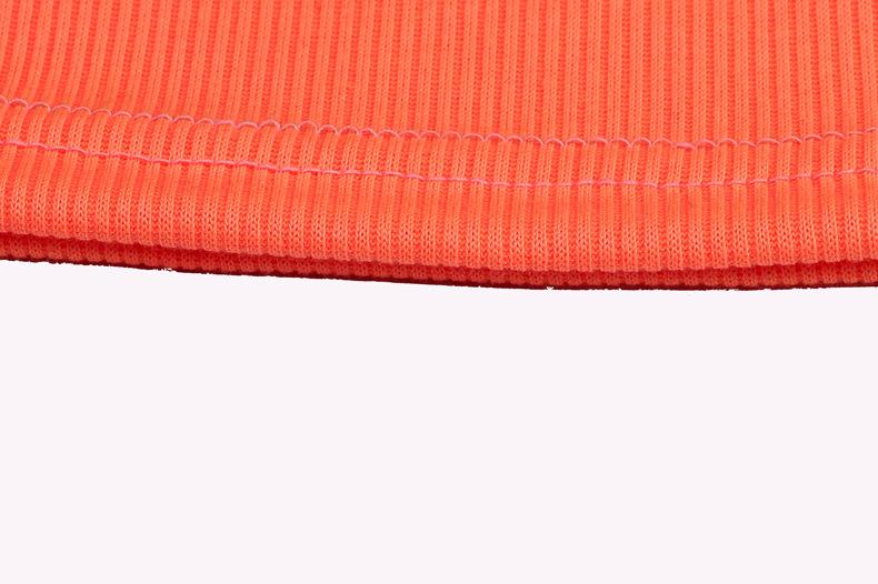 solid color one shoulder vest  NSZH21718