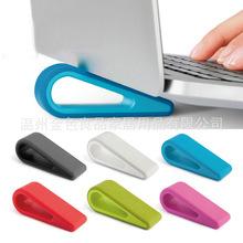 便携式笔记本散热脚垫防滑垫子手提电脑降温排风底座支架散热器