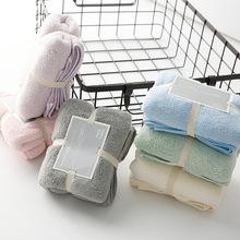 AOKEE日式珊瑚絨吸水毛巾超細纖維毛巾面巾兒童運動禮品毛巾定制