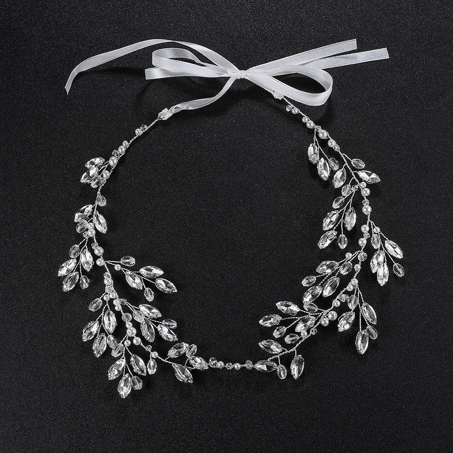 Imitated crystalCZ Fashion Geometric Hair accessories  Alloy NHHS0121Alloy