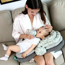 哺乳枕头新生婴儿喂奶枕宝宝多功能可调节高度授乳枕1.2KG