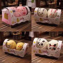幼兒園兒童小禮物兔子豬豬毛巾造型結婚慶回禮品寶寶滿月活動贈品