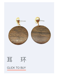 Alloy Fashion Geometric earring  (Alloy + coffee color) NHTF0734-Alloy-coffee-color