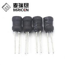 工字电感14*15插件线圈两脚三脚定制100UH 1.5MH 3.3MH 10MH 30MH