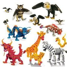 EVA泡沫拼装积木多款动物恐龙套装拼插手工创意儿童玩具一件代发