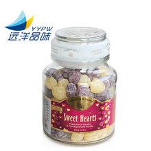 德国嘉云糖水果糖糖硬糖草莓  蔓越莓香草味创意?#22242;?#23401;礼品350g