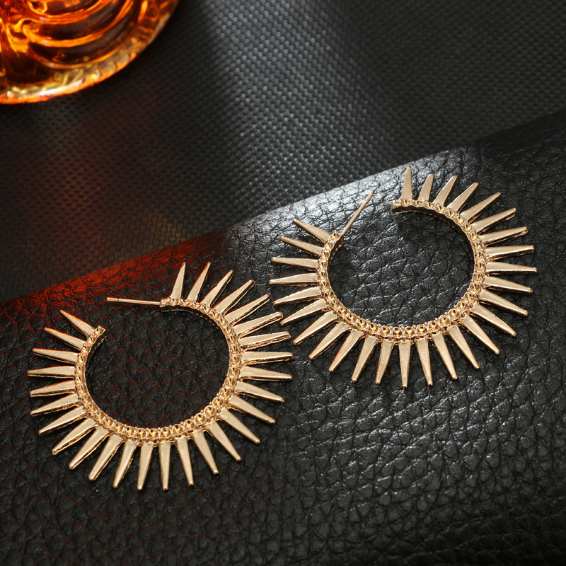 Alloy Vintage Geometric earring  (Main color) NHGY1820-Main-color