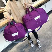 廠家批發韓版休閑旅行袋大容量旅行包手提行李包男女單肩斜跨定制