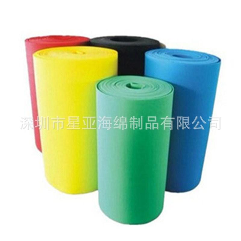 高密度EVA片材  EVA耐腐蚀泡棉卷材 EVA圆形海绵垫阻燃背胶