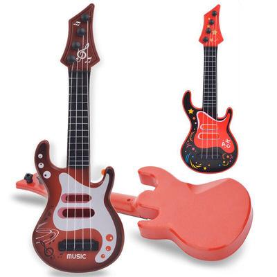 厂家直销可弹奏仿真尤克里里迷你吉他初学者儿童早教乐器宝宝玩具