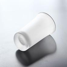 斜底小酒杯玻璃一口杯透明云吞杯小容量白酒杯