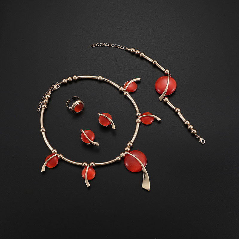 Alloy Simple  necklace  (61174429) NHXS1691-61174429
