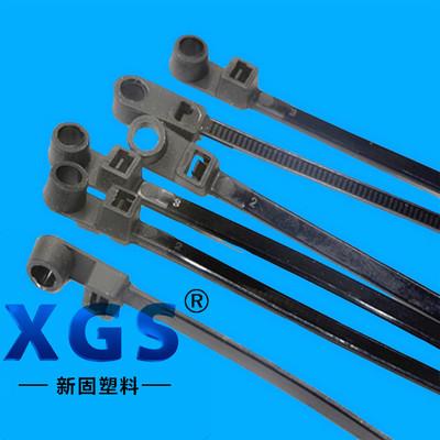 厂家直销固定头式尼龙扎带 尼龙塑料束线带 4X250MM   250条