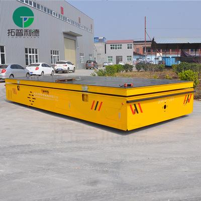 洛阳 无轨道电动平车 模具设备转运平板车 四轮胶轮电动平车