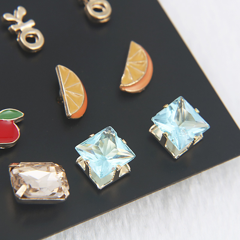 Alloy Fashion Geometric earring  (color) NHSD0049-color